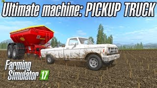 The Ultimate Farming Machine: Lizard Pickup Truck