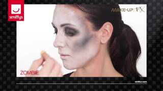 Zombie Female Make-up Tutorial