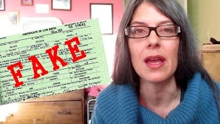 OBAMA'S BIRTH CERTIFICATE PDF PROVEN FAKE (Congressional investigation possible)