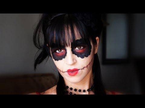 Maquillaje Sexy Halloween  - Versión de Calavera de Azúcar