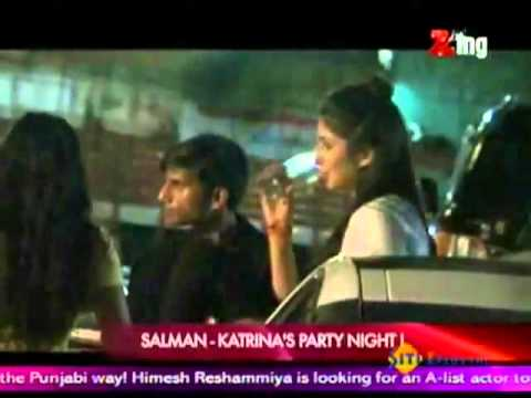 SALMAN  KHAN AND Katrina KAIF Party TOGETHER  AT EK THA TIGER SCREENING .flv