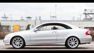 Mercedes CLK 240 Avantgarde  Impressie video