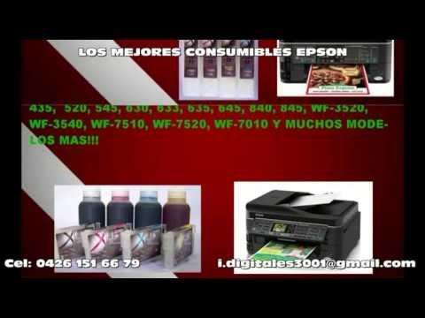 Cartuchos Recargables y Consumibles Epson