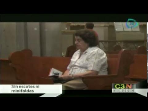 Prohíben escotes y minifaldas en iglesias de Aguascalientes