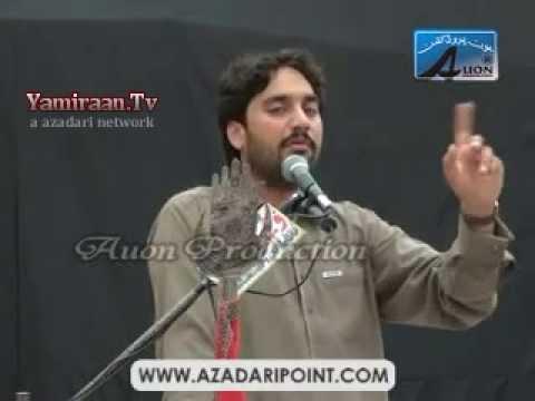 Zakir Waseem Abbas Baloch (31st March 2013) (waqia Bashir) Ali Raza Abad Lahore video