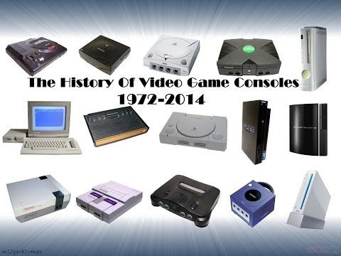 Here is my latest videos, The History Of Video Games Console 1972 - 2014. Is a video that's been long in the making, and part 2 of my old video History of video games 1972-2012. If your a...