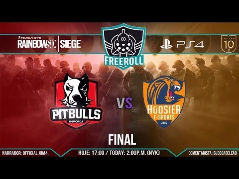 |FreeRoll Diamante| Final - Pitbulls E-Sports vs HoosieR E-Sports |