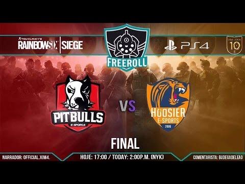 |FreeRoll Diamante| Final - Pitbulls E-Sports vs HoosieR E-Sports |