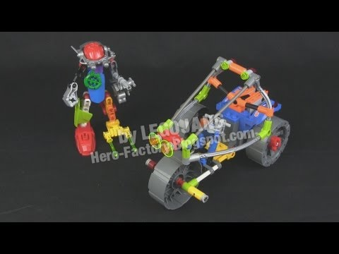 LEGO Hero Factory RACERS: Blanko + HeroCycle