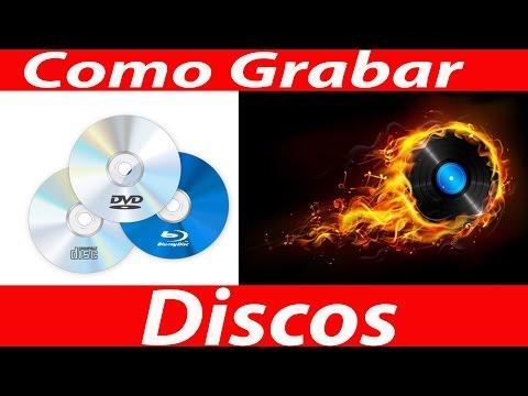 Como Quemar o Grabar un Disco CD - DVD + 4 Pack de Wallpaper