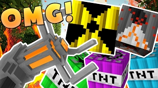 EPIC MODDED TNT WARS (NUKE TNT, CHEMICAL TNT, VOLCANO TNT) - MODDED Minigame
