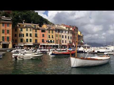 Невероятно красивый итальянский городок Портофино. Прогулка поцелуев.
