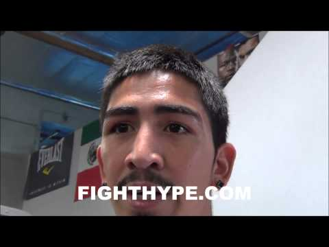 LEO SANTA CRUZ ON MANUEL ROMAN WE USED TO GO TO WARITS GOING TO BE A GREAT FIGHT