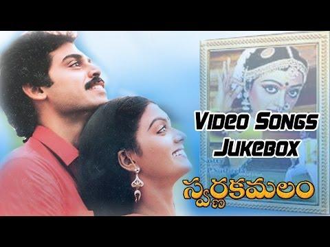 Swarna Kamalam Movie || Video Songs Jukebox || VenkateshBhanupriya...