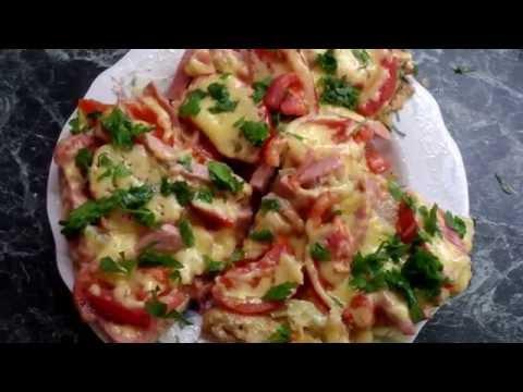 СЫТНЫЙ ЗАВТРАК ЗА 15 МИНУТ. КАРТОФЕЛЬНАЯ ПИЦЦА  /  potato pizza , быстро и вкусно)