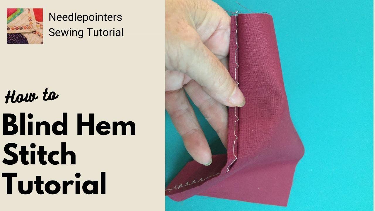 Hem Stitch Machine Blind Hem Stitch Using The