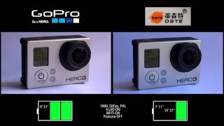 Gopro Hero 3 | Original vs. Clone battery life