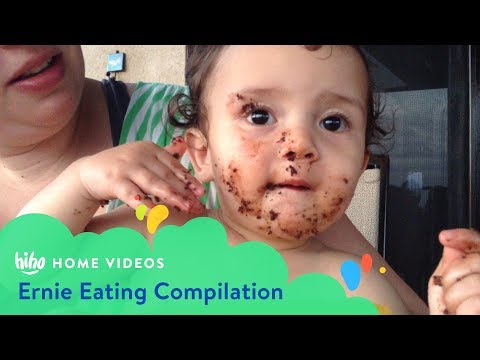 Ernie Food Compilation | Home Videos | HiHo Kids