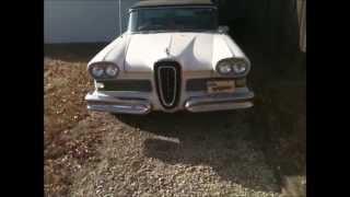 Dads 1958 Edsel Ranger 11 28 14