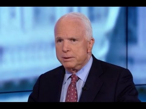 John McCain Lies About Code Pink Peace Protesters