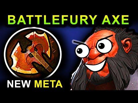 BATTLEFURY AXE - DOTA 2 PATCH 7.07 NEW META PRO GAMEPLAY