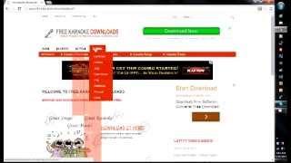 FREE KARAOKE DOWNLOAD ENGLISH SONGS