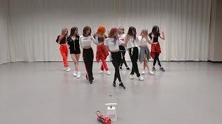 fromis_9 (프로미스나인) - LOVE BOMB Dance Practice (Mirrored)