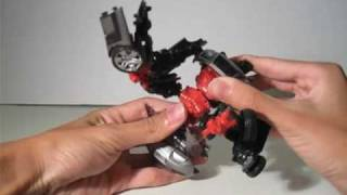 Transformers ROTF Revenge of The Fallen Sideways Review