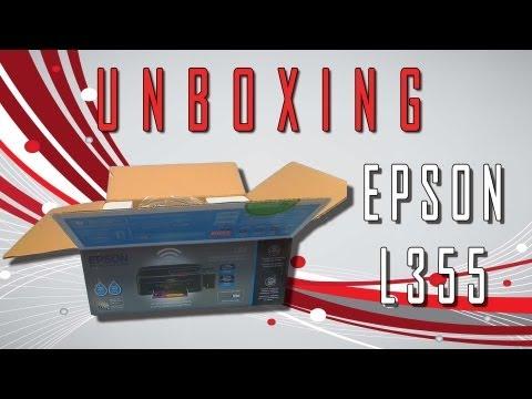 EPSON L355 Unboxing