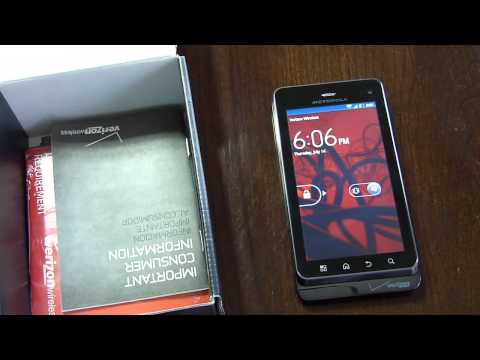 Video: Motorola DROID 3 Unboxing & Hands-on