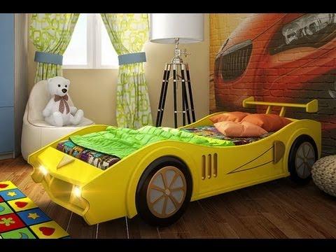 Кровать машина для мальчиков своими руками