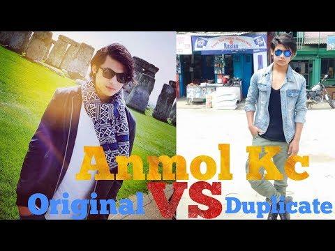 ANMOL KC (ORIGINAL) VS AVISHEK SHRESTHA (DUPLICATE)  LIFESTYLE  BIOGRAPHY