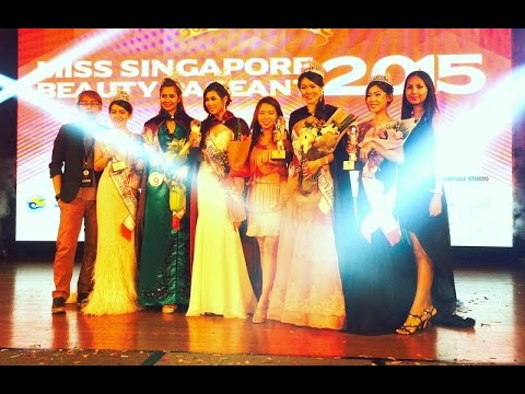 Miss Singapore Beauty Pageant Grand Finals 2015