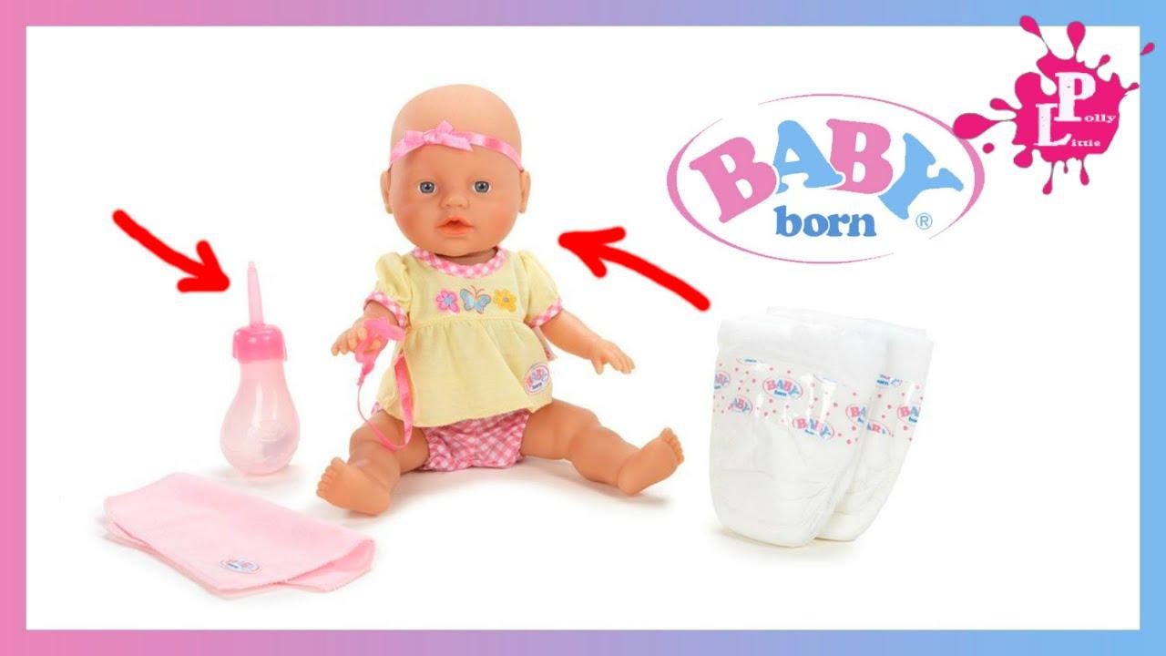 Как сделать чтобы беби борн плакал