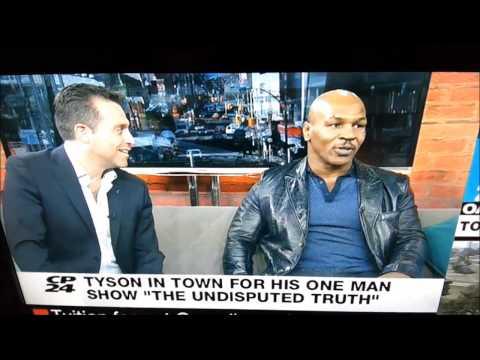 Тайсон послал ведущего нах** в прямом эфире