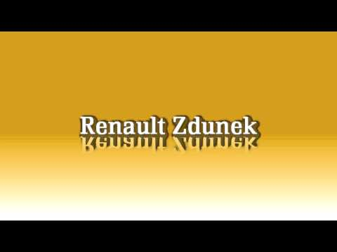 Logo Renault Zdunek Grafika
