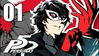 Persona 5 - Let's Play Stream Series Part 1