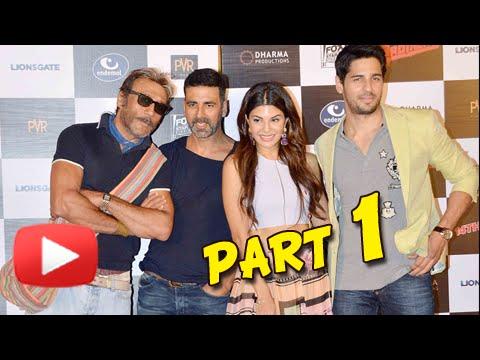 (VIDEO) Brothers Trailer Launch | Akshay Kumar, Sidharth Malhotra, Jacqueline, Karan Johar | Part 1
