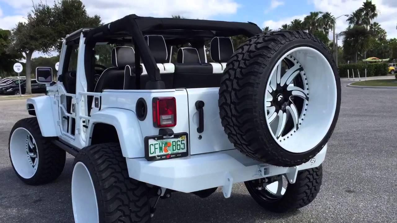 Jeep Wrangler First Ever 37 Quot Mud Tires 26x14 Forgiato