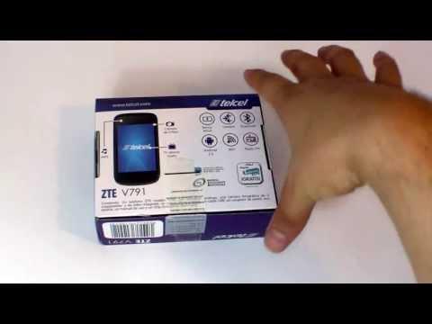 ZTE V791 Telcel - Unboxing HD