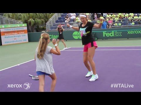 Victoria Azarenka | WTA Live Fan Access presented by Xerox | 2015 Miami Open