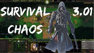 Survival Chaos Live - Cloack of Shadows [Thank You For The Sub!] | Warcraft 3 | WarBoss