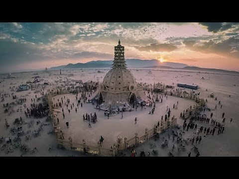 To Fly Burning Man 2014 - A Drone's View