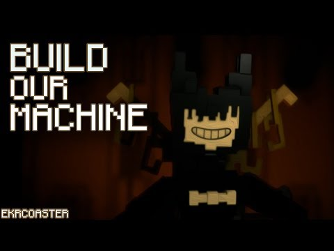 'BUILD OUR MACHINE' | Bendy Minecraft Animation (Song By DAGames )