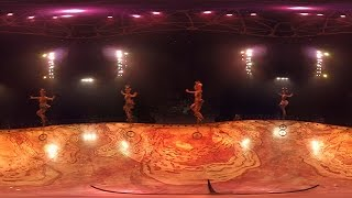 360-degree VR video of Cirque Du Soleil's TOTEM 【Fuji TV Official】