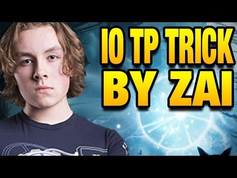 Zai Perfect Timing TP with IO (Wisp) - EG vs OG Kiev Major - DOTA 2 7.05