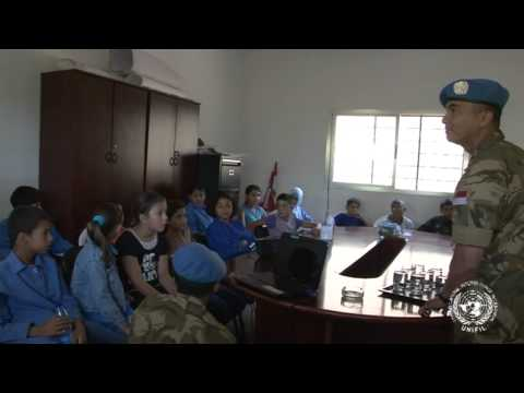 Satgas Indo Mcou Konga Xxx-b unifil School Engagement Blade South Lebanon video