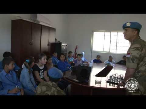 Satgas Indo Mcou Konga Xxx-b unifil School Engagement Blade South Lebanon video