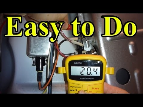 How to Fix YOUR gas Dryer that is not heating up (Part 1 rear panel)
