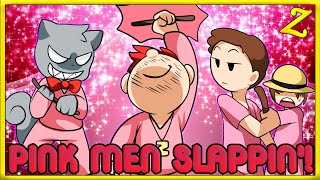CHEATIN' TO THE TOP!! | Minecraft Pink Men Slappin' on Each Other!
